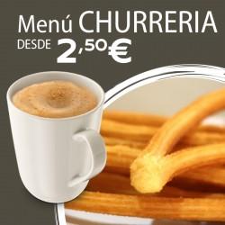 Menú Churrería
